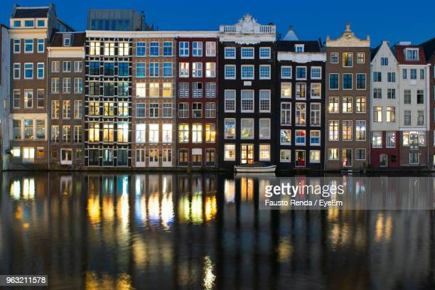 Reflection Of Buildings In Canal
