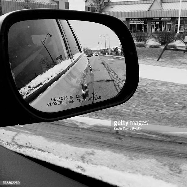 reflection of car in rear view mirror - eyeem kevin tam stock pictures, royalty-free photos & images
