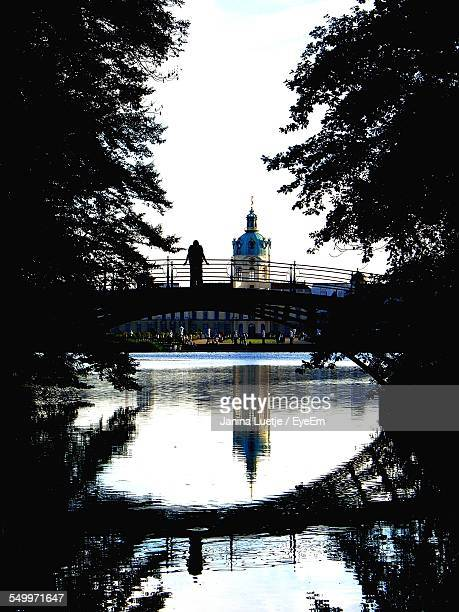 Reflection Of Charlottenburg Palace In Canal