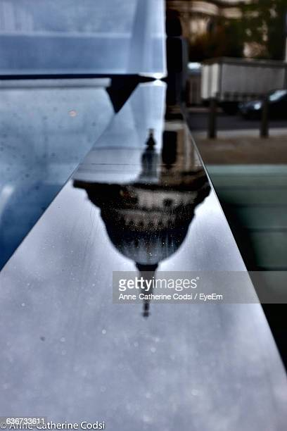 Reflection Of Domed Structure In Water