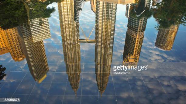 Reflection of KLCC