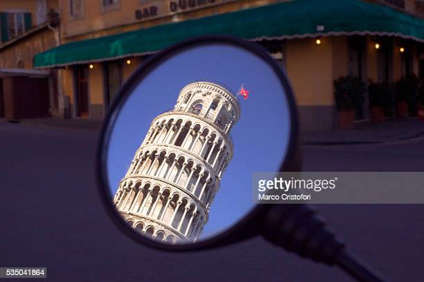 Reflection of the Leaning Tower