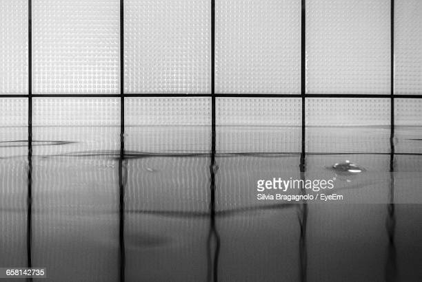 Reflection Of Tiles In Swimming Pool