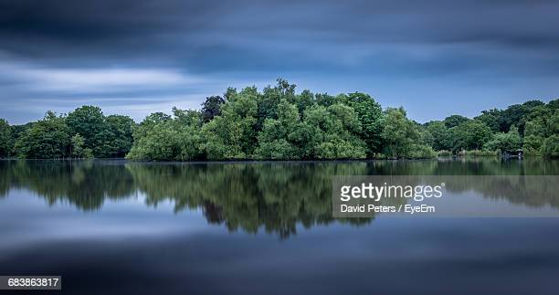 Reflection Of Trees In Connaught Water
