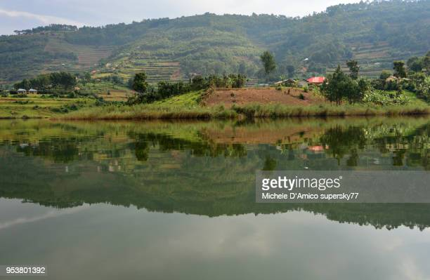 Reflection on Lake Bunyonyi