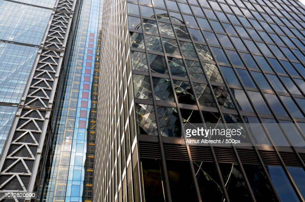 reflection (Swiss Re Tower)