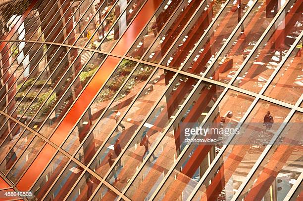 reflection - thompson center stock pictures, royalty-free photos & images