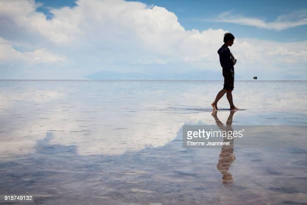 Reflection, Uyuni, Bolivia