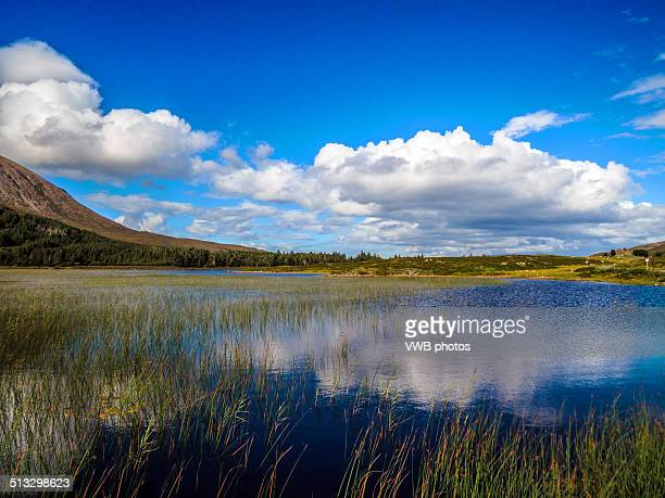 Reflections in Loch Cill Chriosd, Isle of Skye