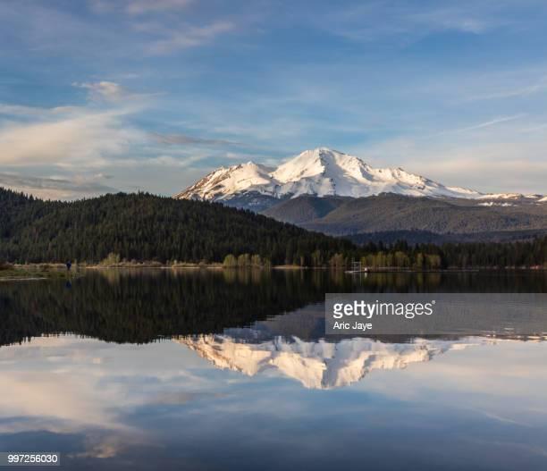 Reflections Mt Shasta