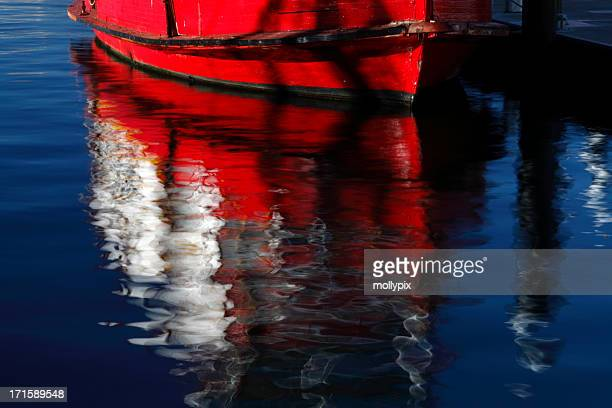 Reflections of a Boat
