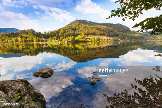Reflexionen eines Bergsees