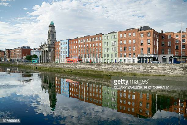 Reflections of  buildings / Dublin