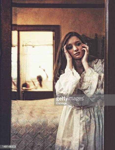 reflections of guilt - antebellum stock photos and pictures