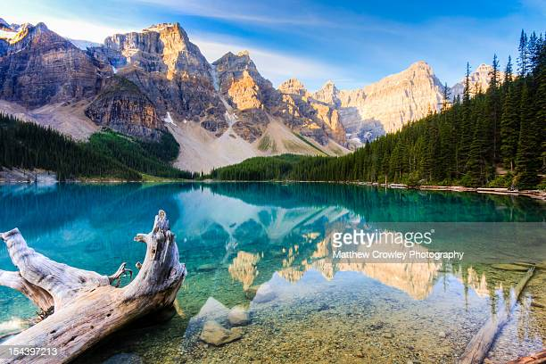 Reflections of Moraine Lake