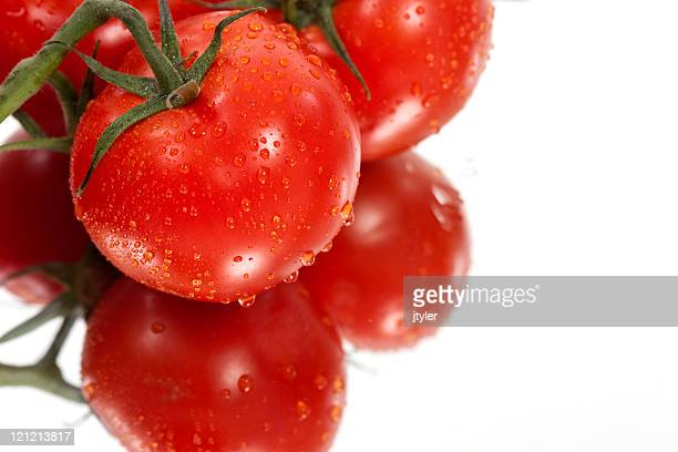 Reflections of Tomatoes
