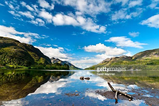 Reflections on loch Shiel