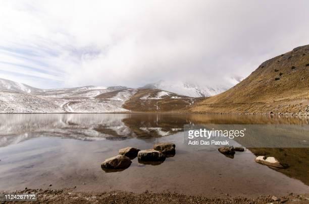 Reflections on the Laguna de Luna