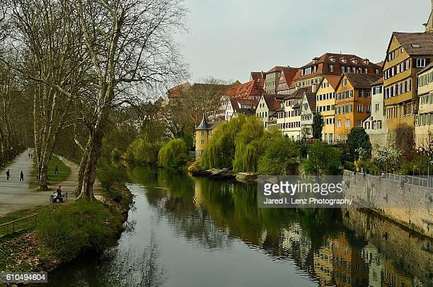 Reflections on the Neckar River
