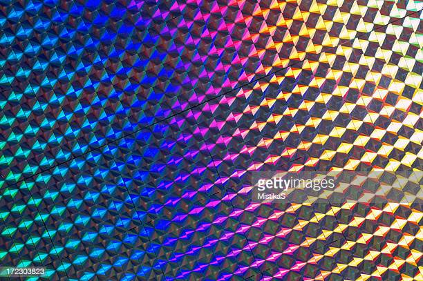 reflective pattern - hologram stock pictures, royalty-free photos & images