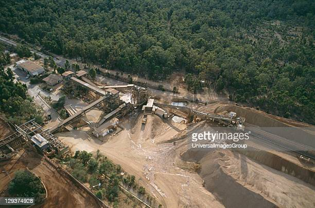 Reforestation Australia Western Australia Darling Range Jarrahdale Mine Vicinity Perth Reforestation Of Bauxite Mines By Alcoa Of Australia Bauxite...