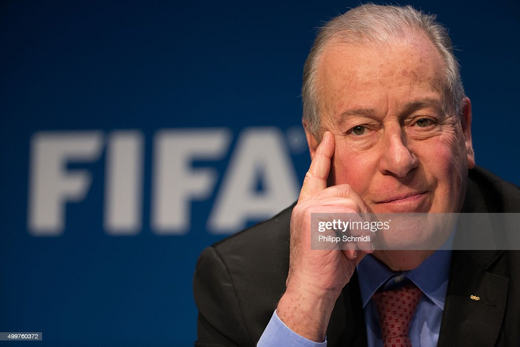 Reform Committee Member Francois Carrard attends a FIFA Executive Committee Meeting Press Conference at the FIFA headquarters on December 3, 2015 in Zurich, Switzerland.