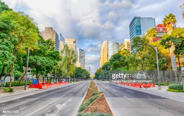 Reforma Avenue in Mexico City, Mexico