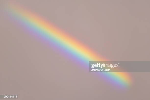 refraction - rainbow stock pictures, royalty-free photos & images