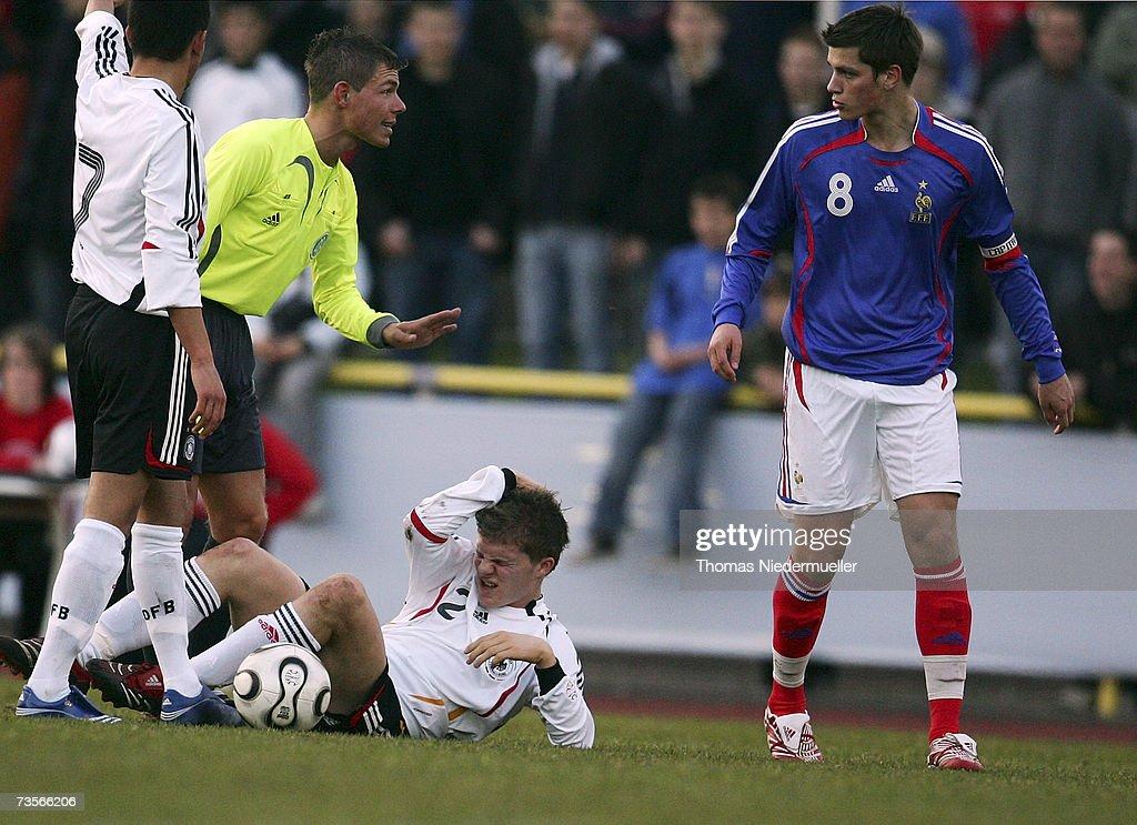 Men?s U18 Germany v France : News Photo