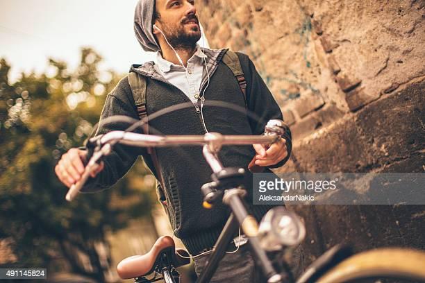 Refreshing bicycle ride