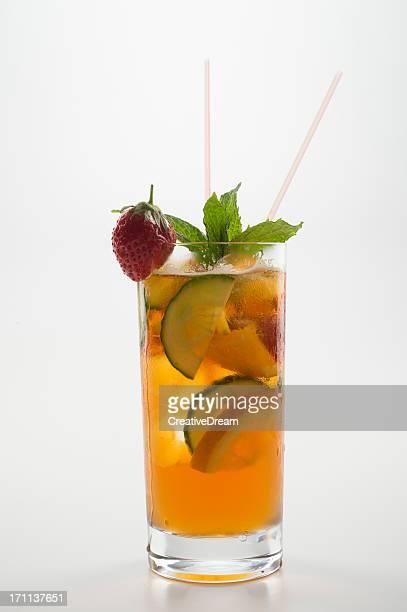 Erfrischender Früchtepunsch Getränke