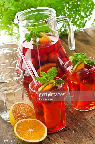 新鮮なフルーツ、サングリア