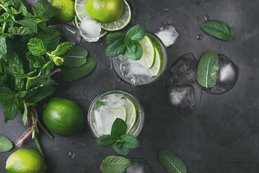 Refreshing summer drink mojito cocktail - gettyimageskorea