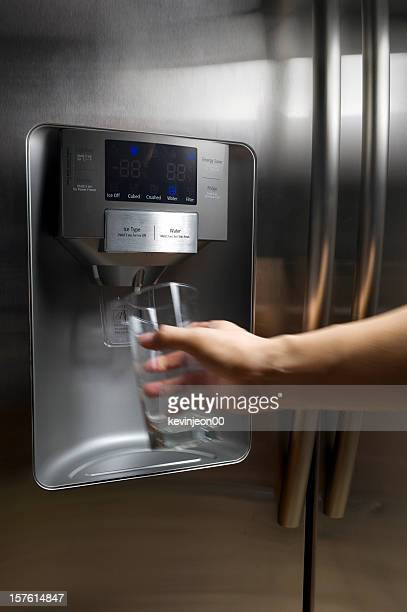 Refreshing water from fridge