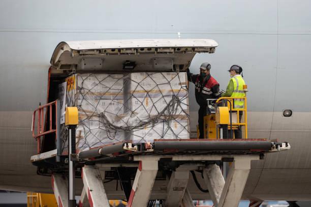 CHN: Shipments of BioNTech Vaccine Arrive In Hong Kong