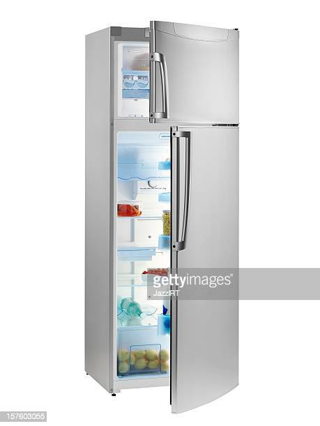 refrigerator - refrigerator stock pictures, royalty-free photos & images