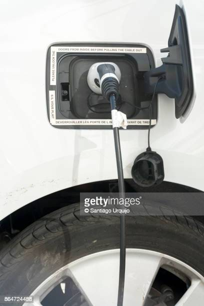 Refueling an electric hybrid car