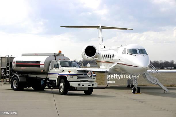 Refueling Corporate Jet