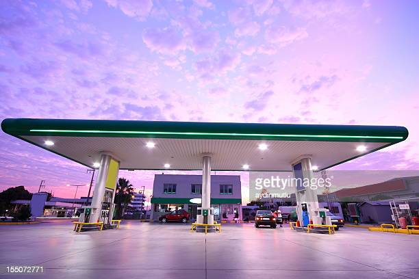 refueling station - convenience store stock photos and pictures