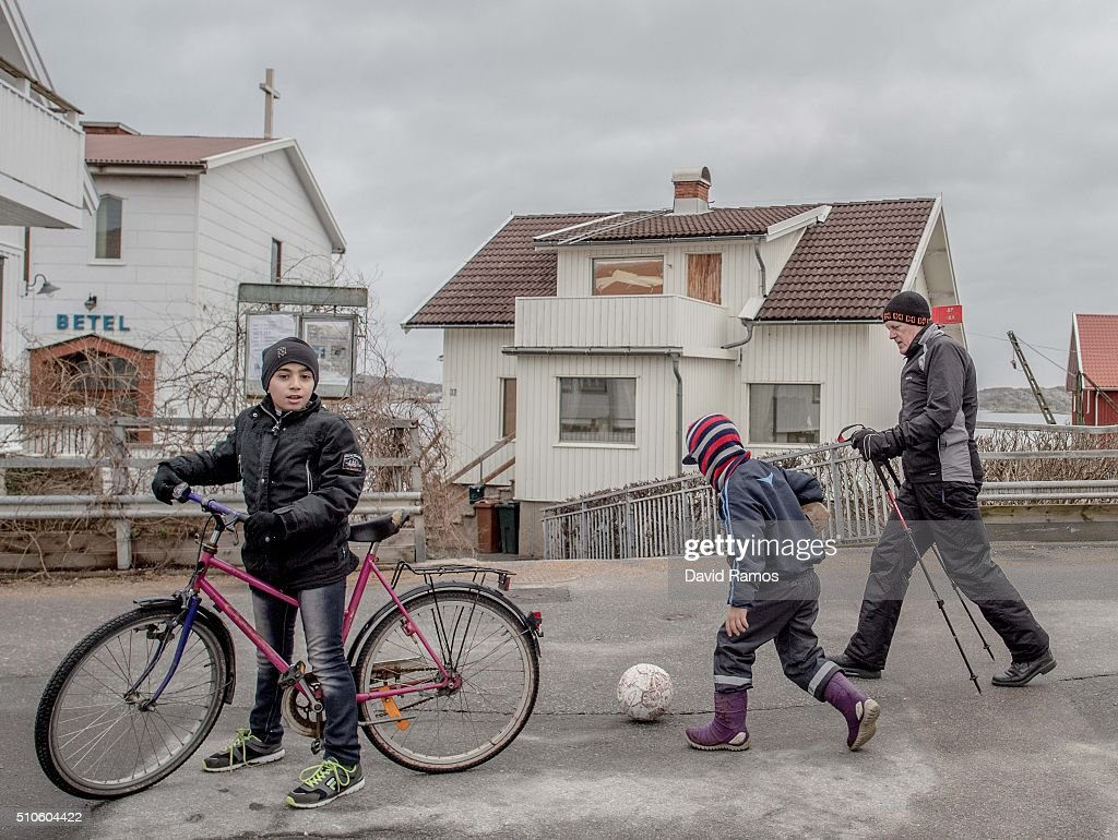 Utopia Challenged - Sweden's Relationship With Refugees : News Photo