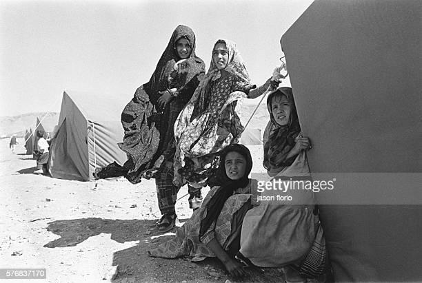 Refugee camp in Herat
