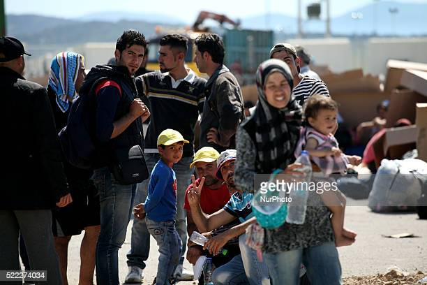 Refugee camp in Skaramaga area a port town 11 km west of Athens A large camp is being constructed here with a big capacity and characteristics which...