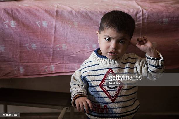 Refugee children in the Old City of Aleppo