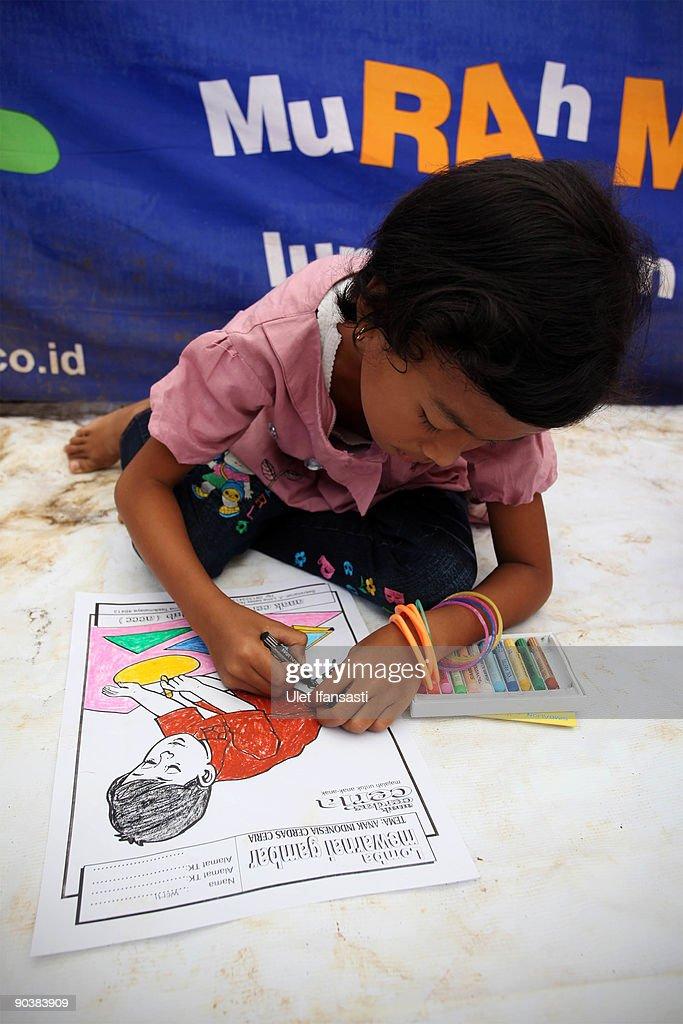 Refugee Children Play At A Refugee Camp On September 6 2009 In
