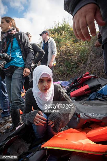 Refugee crisis in Europe - Lesbos, Greece