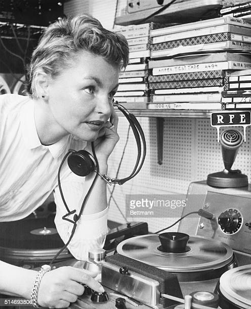 Refugee Eva broadcasts her jazz radio program Date With Eva back to her homeland of Czechoslovakia six times a week on Radio Free Europe American...