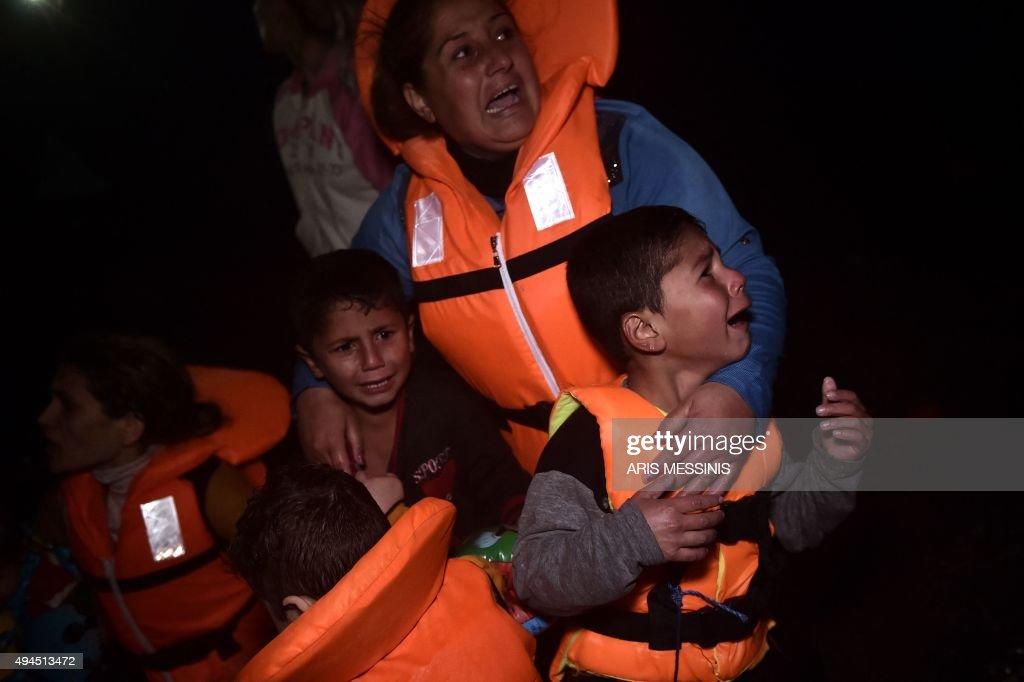 GREECE-EUROPE-MIGRANTS : News Photo