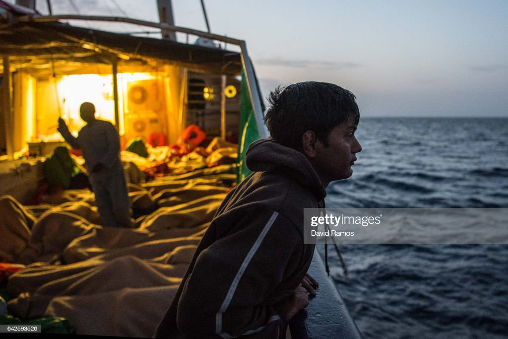 Search And Rescue On The Mediterranean With Proactiva Open Arms : News Photo