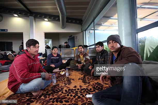 Refugees and migrants stranded at the port of Piraeus, Athens, Greece, on Mar 16, 2016