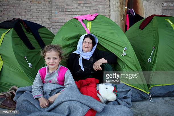 Refugees and migrants stranded at the port of Piraeus Athens Greece on Mar 7 2016